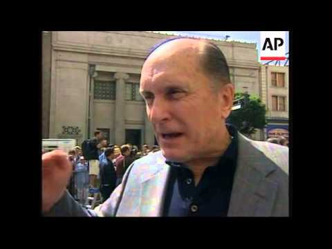 Veteran star of The Godfather joins the Walk of Fame