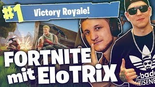 Abgehen in Fortnite  mit ELOTRiX 😎| SpontanaBLack