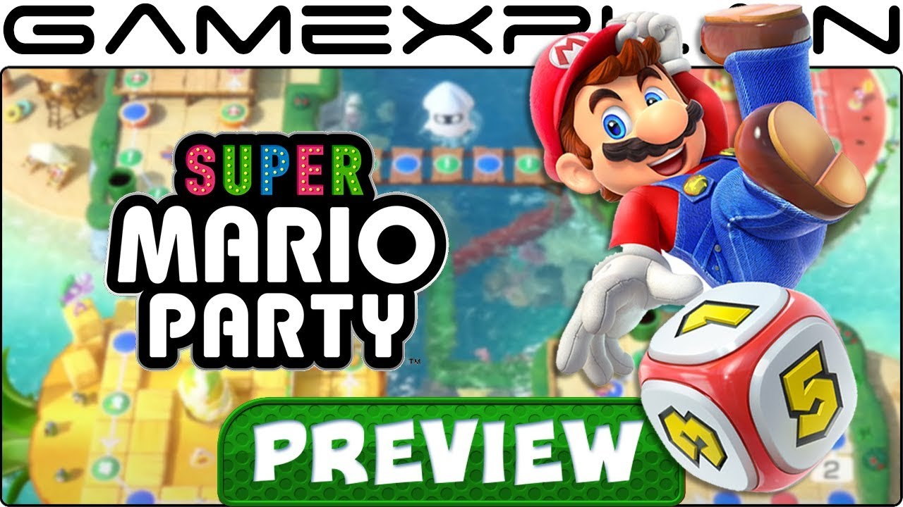 We Played Super Mario Party's Board Game Mode! Hands-On Preview (+River Survival + Nintendo Switch)
