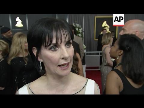 2017 Grammy Fashion Sound bites - Jane Zhang, Enya and Cassadee Pope