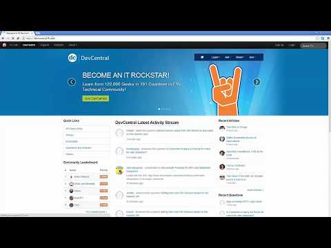 2 Minute Tech Tip: URL Redirect