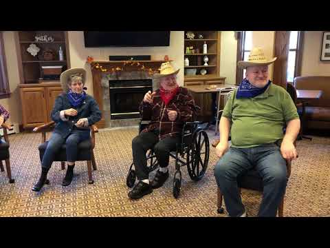 The Git Up Challenge At The Renaissance Assisted Living-Appleton