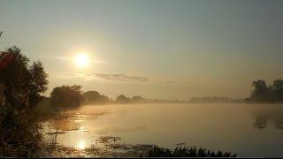 Рыбалка на фидер в июле, на нижней Москве-реке-3.(И снова Москва-река и снова туман и снова душа наслаждается, умиротворённой степенностью, а в то же время..., 2016-07-16T16:59:23.000Z)