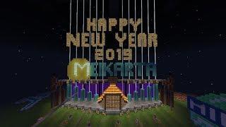 MINECRAFT HAPPY NEW YEAR 2019