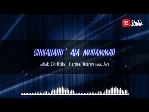 Sholallohu Ala Muhammad Lirik Arab Latin