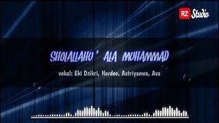 Sholallohu  39 Ala Muhammad Lirik Arab  Latin