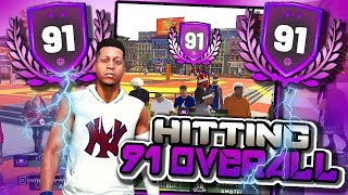 91 Overall Shot Creating Slasher - NBA 2K19 2v2's Gameplay