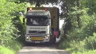 Transport d'une mélangeuse 27m³