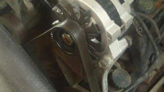 Replacing The Serpentine Belt On A 1993 Chevrolet Silverado