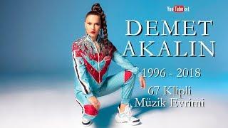 🎧 Demet Akalın Müzik Evrimi 3  1996 - 2018 Dünyalarca Müzik