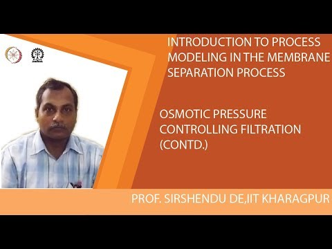 Osmotic Pressure Controlling Filtration (Contd.)