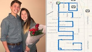 How This Teen Used a Running App To Ask His Girlfriend To Prom