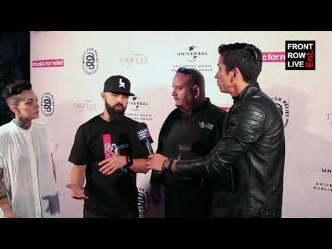 Celebrity Coffee Chef Bryan-David Scott & LKSD Interview at Linkin Park's Poker Tournament