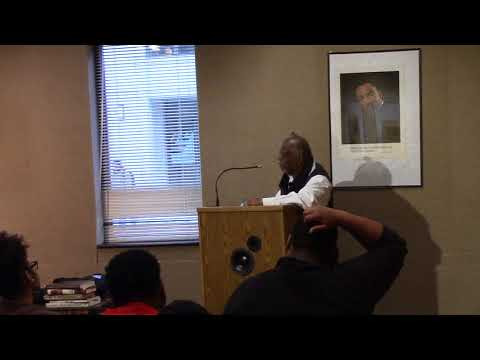 "Leonard Harris Lecture on William R. Jones, ""Is God a White Racist?"" 4-4-18"
