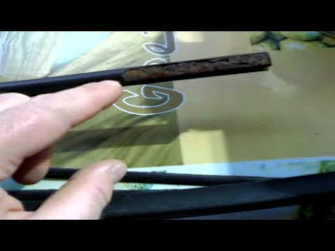 GOLF:Comment Réparer Ses Baguettes de Vitres /GOLF 1,2,3:How To Repair Its Rustproof Window Sticks