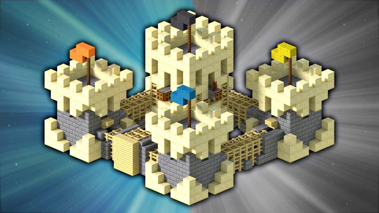 Minecraft Top 5 Castles - YouTube