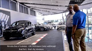 Mercedes-Benz of Scottsdale dealership Walkthrough - Brads Big Adventures with Brad Perry