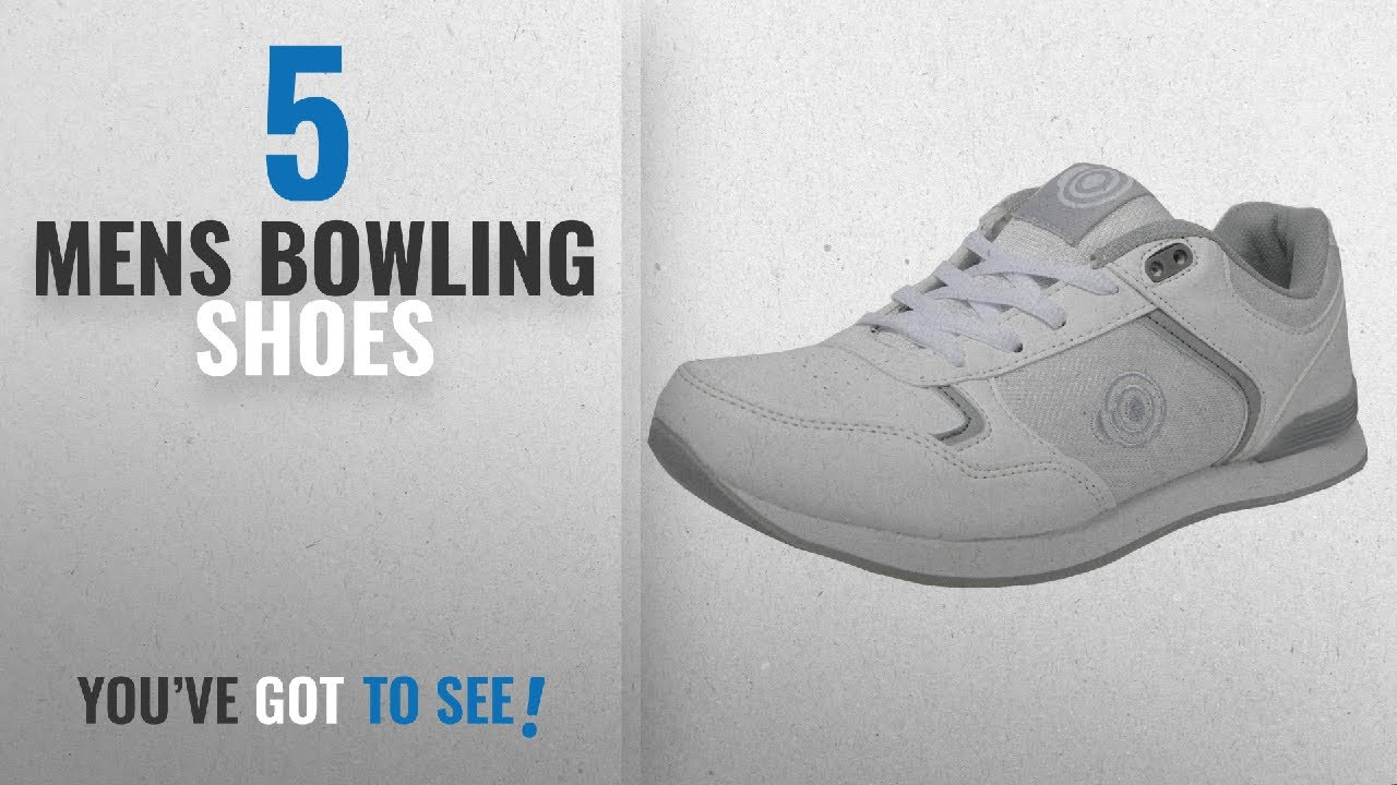 4f1fbb23e13 Top 10 Mens Bowling Shoes  2018   Mens Flat Sole Lightweight Lace Up Bowls  Shoes Bowling Trainers