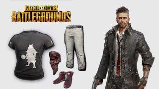 DMM T-shirt & School Pants, Bandana [PlayerUnknown's Battlegrounds skins | PUBG]