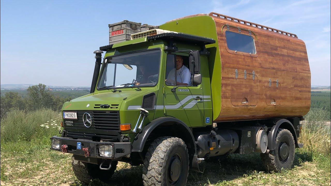 Unimog U9 L Vorstellung  Expeditionsmobil  Nur Holz ist das Wahre   Österreich Trip #9 🇦🇹