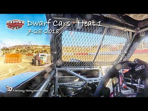 Barona Speedway Dwarf Car Heat 1 • 7-28-2018
