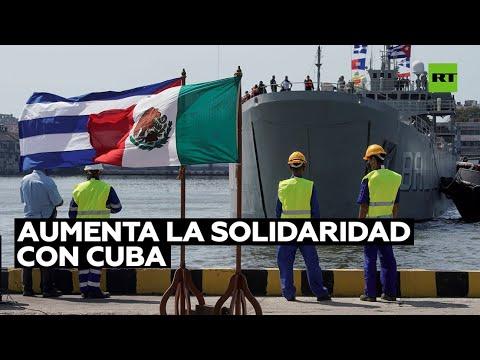 Cuba agradece a Bolivia y México el envío de alimentos e insumos médicos para enfrentar la crisis