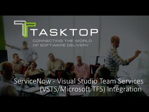 ServiceNow - Visual Studio Team Services (VSTS/Microsoft TFS) Integration