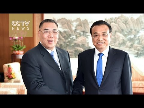 Chinese Premier Li Keqiang meets Macao's chief executive