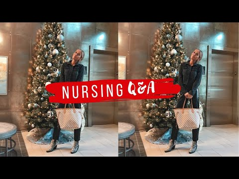 ALL OF YOUR NURSING QUESTIONS ANSWERED | VLOGMAS DAY 8