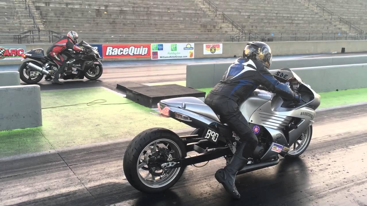 Hayabusa Vs Zx14 Drag Race