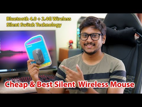 Cheap & Best Bluetooth Mouse India 2019 | Rapoo M100 Silent Wireless Mouse Review