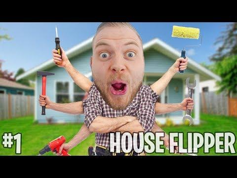 SQUIDDY THE HANDYMAN!! - HOUSE FLIPPER #1