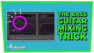 The Bass Guitar Mixing Trick for Clean Low End (Pocket EQ) | musicianonamission.com - Mix School #14