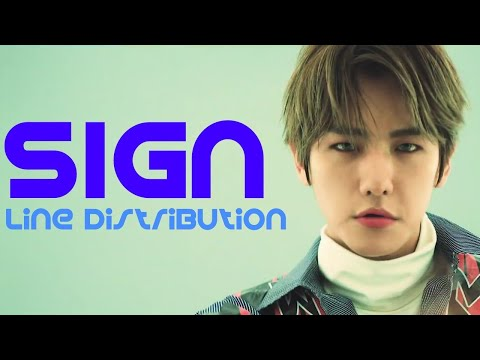 EXO - SIGN (Line Distribution)