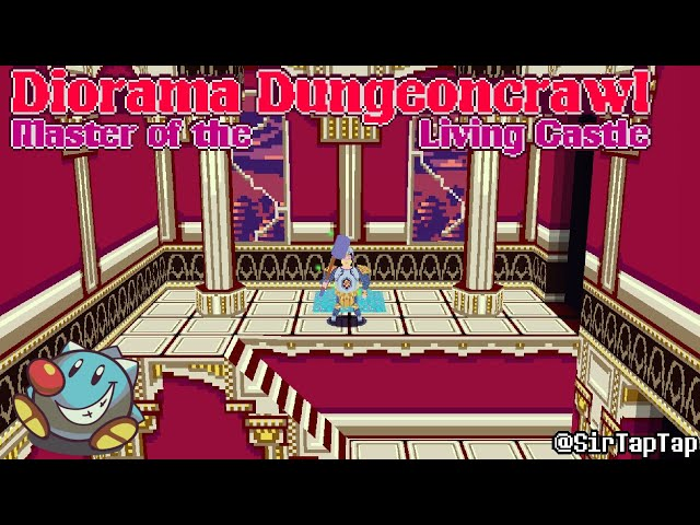 Let's Play Diorama Dungeoncrawl   Cute Classic Castle Crashing