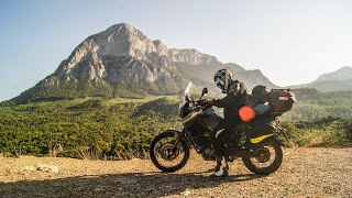 3500KM Solo Motorcycle Adventure - Among the Mountains of Turkey // (with english subtitle)