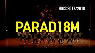 HOCC 2017/2018 | JUDGES VIEW | PARAD18M