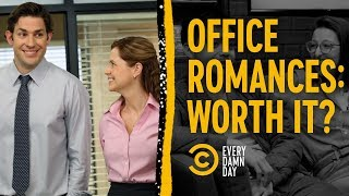 Our Real Office Romances Aren't Like