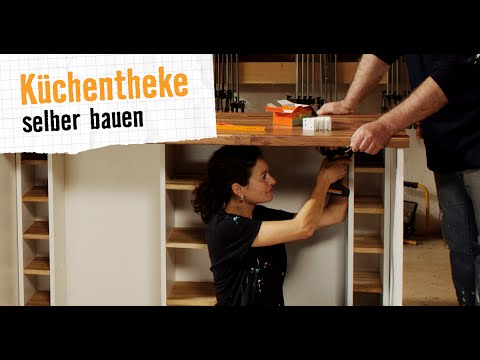 k chentheke hornbach m bel selber bauen youtube. Black Bedroom Furniture Sets. Home Design Ideas