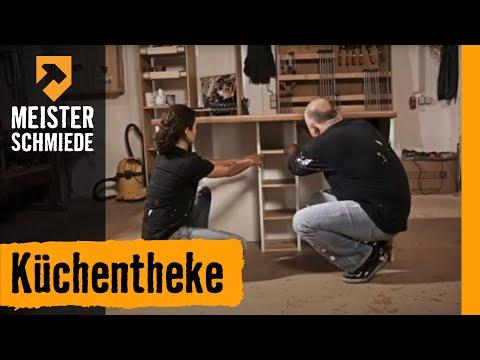 Kchentheke HORNBACH Mbel selber bauen  YouTube