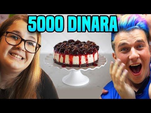 50 DIN KOLAČ protiv 5000 DIN KOLAČ