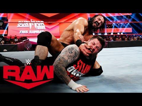 Kevin Owens vs. Drew McIntyre: Raw, Nov. 18, 2019