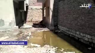 مأساة قرية «ميانة» وسط تجاهل المسئولين.. القرية تسبح فوق المياه الجوفية.. إصابة مئات الأطفال بالأمراض الباطنية والجلدية