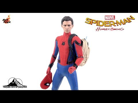 Optibotimus Reviews: Hot Toys Deluxe Spider-Man Homecoming SPIDER-MAN
