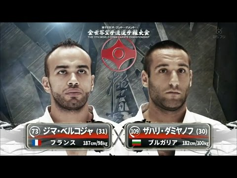 11th World championship kyokushin KNOCKOUTS (كاراتيه كيوكشن)