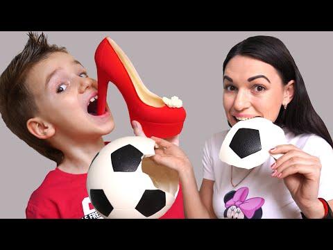 Максим и мама - история для детей про вредные сладости и конфеты