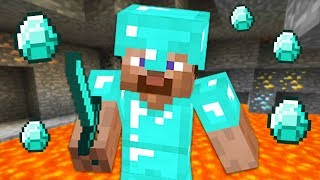 DIAMOND ARMOR & MAX LEVEL ENCHANTING!! MINECRAFT w/ MY GIRLFRIEND!! (Minecraft #5)