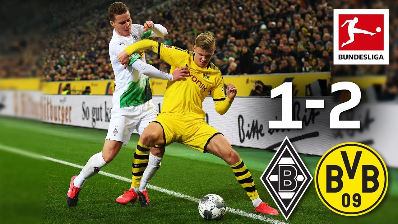 Borussia Monchengladbach Vs Borussia Dortmund I 1 2 I Hazard Hakimi Goals Decide Top Match Youtube