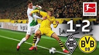 Borussia Mönchengladbach vs Borussia Dortmund I 1 2 I Hazard Hakimi Goals Decide Top Match