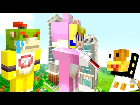BOWSER JRS DOG SURGERY IN THE HOSPITAL! *DYING!?*  Nintendo Fun House  Minecraft 363